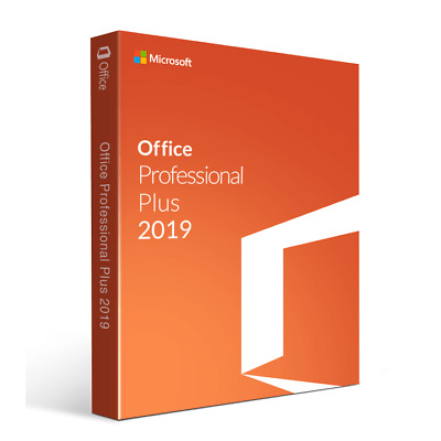 MS Office 2019 Pro Plus, ENGLISH VERSION 32&64 Bits Produkt-key per Email