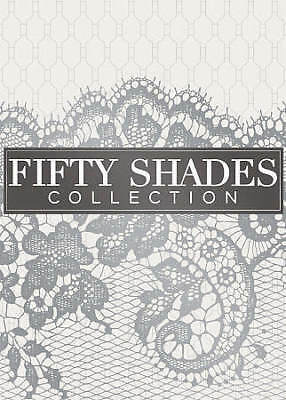 Fifty Shades 3-Movie Collection DVD, 2018 Fifty Shades Of Grey, Darker And Freed
