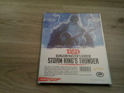 D&D 5th Edition Storm Kings Thunder DM Screen 2016  Neu New Hardcover Sealed