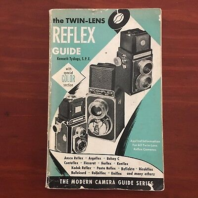 THE TWIN LENS REFLEX CAMERA by Kenneth Tydings (Softcover, 1953)