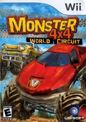 GUARANTEED! Monster 4X4: World Circuit For Wii Racing Video Game FREE SHIPPING