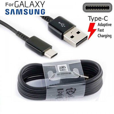 Genuine Type C USB-C Sync Charger Charging Cable Samsung Galaxy S9 / S9+ S8 Plus