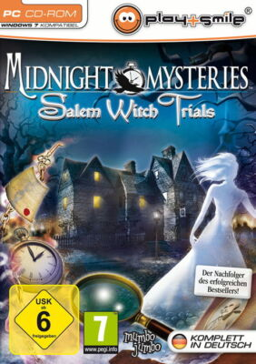 Midnight Mysteries 2 - Salem Witch Trials (PC, 2010, DVD-Box)
