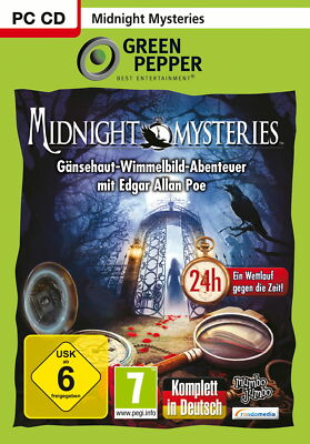 Midnight Mysteries (PC, 2010, DVD-Box)