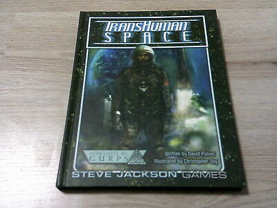GURPS 3rd Edition Transhuman Space Campaign Setting HC Steve Jaclkson Games 2002