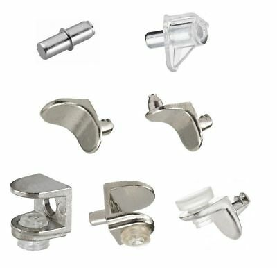 Shelf Support Plug Pin Stud For Wooden Glass Cupboard Cabinet 5 MM Various Pack