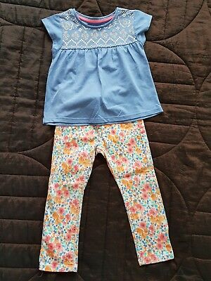 Girls 2-3 Years Mothercare Jeans And Tu Top