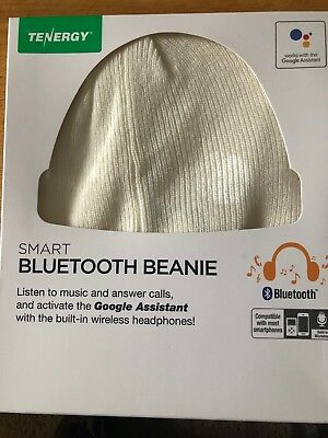 940321d77db NEW Tenergy Smart Bluetooth Hands-Free Wireless Knit Beanie Google Assistant
