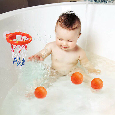 Shooting Game Toy Set Bathtub Mini Funny Bath Toys Children Basketball Plastic