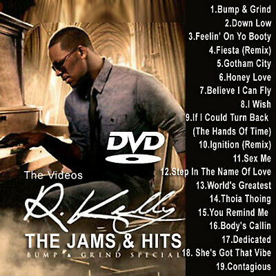 R.Kelly MUSIC VIDEOS HIP HOP R&B RAP DVD