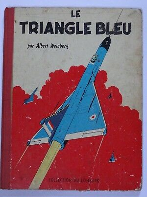 Dan Cooper Le Triangle Bleu De 1957 Toilé Lombard EO VOIR PHOTOS + Point Tintin