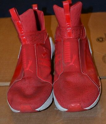 9e84a33c7419 Womens Puma Fierce Core Size 7 Athletic Shoes Red White 18897704. Size 10