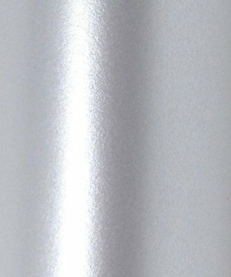 10 X Majestic Real Silver Colour Pearlescent Shimmer Double Sided Card 250Gsm