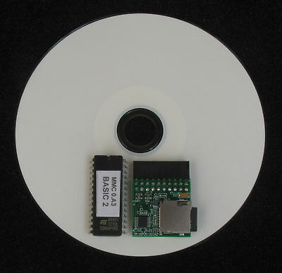 Acorn BBC Micro Model B Master 128 MMC style solid state disk drive + SD card