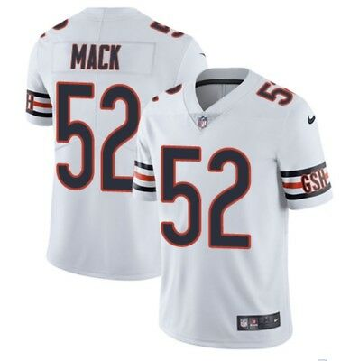 c57dd9fd8 NEW BLUE OR white stitched Khalil Mack Chicago Bears Men s Jersey S ...