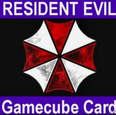 RESIDENT EVIL 0/1/2/3/4/VER X, CHEATS/SAVES, GAMECUBE/Wii 8MB MEMORY CARD (PAL)