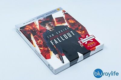 Mission: Impossible - Fallout U`Mania Selective No.2 Blu-ray Steelbook 4K + 2D
