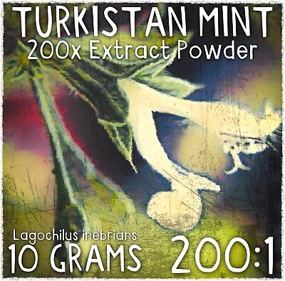 Turkistan Mint | (Lagochilus inebrians) 200x Extract Powder [10 Grams]