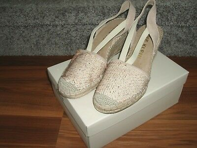 0c04a54916b0 ANNE KLEIN ABBEY Espadrille Wedge Sandals - Women s Size 8 M ...
