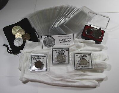 The Beginner's Coin Collecting Kit, A Coin Collection Supplies Starter Set