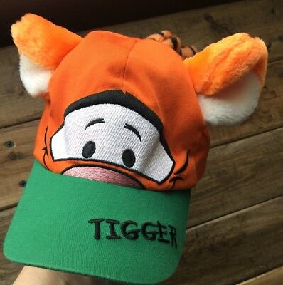 d0e106814cf Tigger Hat Walt Disney World Toddler Baseball Cap Plush Ears And Tail
