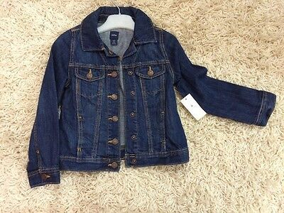 Girls Gap Denim Jacket 5 Years