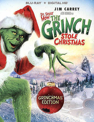 Dr. Seuss' How The Grinch Stole Christmas [Blu-ray], DVD, Mindy Sterling,Taylor