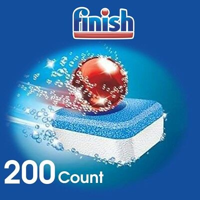 Finish Powerball Dishwasher Detergent Tabs Pods New Bulk Packaging 200 count