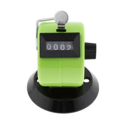 Hand-Held Clicker Lap Tally Counter 4 Digit Palm Golf People Counting Club