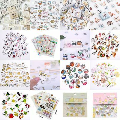 DIY Album Scrapbooking Calendar Diary Planner Photo Stickers Decor Kids Gift Lot