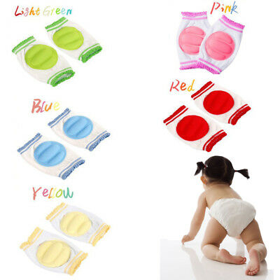 Kids Safety Crawling Knee Elbow Pad Leg Protector Anti-Slip for Toddler Baby CA
