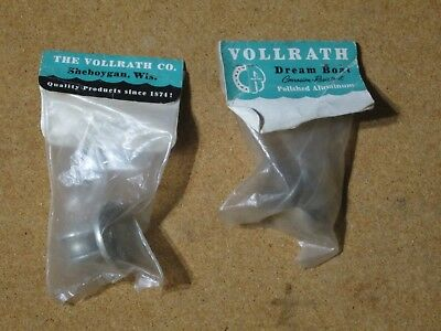 Vintage New Old Stock Outboard Boat Tiller Rope Guides Horizontal Type NOS M305