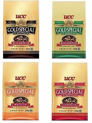 UCC Gold Special Coffee Rich Blend / Mocha / Special / Kilimanjaro 400g Japan