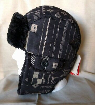 df24d6727 THE NORTH FACE Heli Hoser Trapper Hat Tigers Eye Duckmo Print Ultra ...