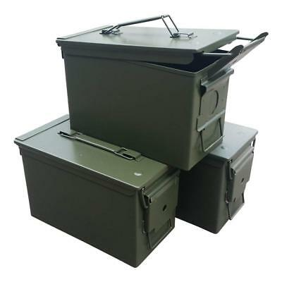 Fat 50 Cal Ammo Can Grade 1 (3 Pack)