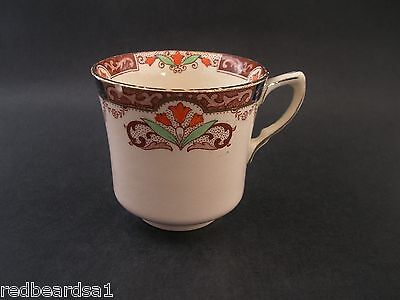 China Replacement JG Meakin Tea Cup Vintage Hand Painted Tulip Art Deco 1930s AF