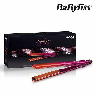 Professional BaByliss Styler 2084U Hair Straightener Ombre Ceramic Fast Heat Up