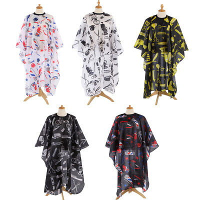 Pro Salon Hair Cutting Cape Waterproof Barber Hairdressing Wrap Gown Apron Cloth