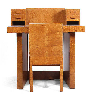 Art Deco Ladies Writing Desk and Chair c1930