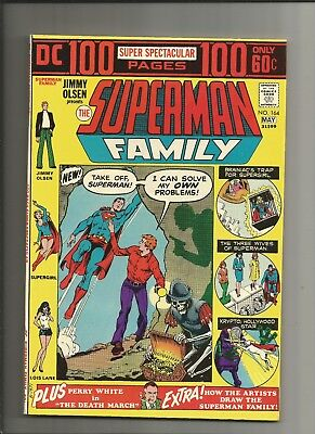 The Superman Family #164 1974 vfn/nm 100 pages Supergirl 1st Issue DC Comics