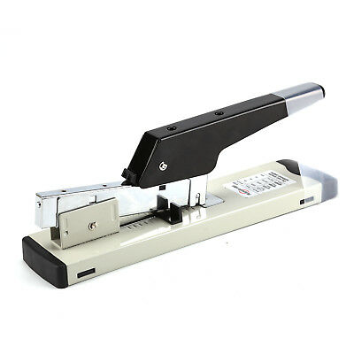 Heavy Duty Metal Adjustable Stapler Paper Bookbinding 100 Sheet Capacity Office