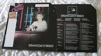SALLY OLDFIELD  'Strange Day In Berlin' Great 80's [promo]Record - see main part