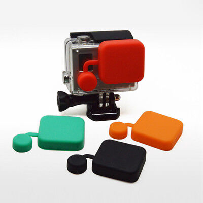 Protective Lens Cover Cap Accessories For GoPro Hero 3+ 4 Session Action Camera