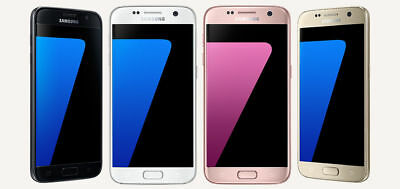 SAMSUNG GALAXY S7 G930 G930F 32GB - Unlocked, EE, O2 Smartphone - All Colours