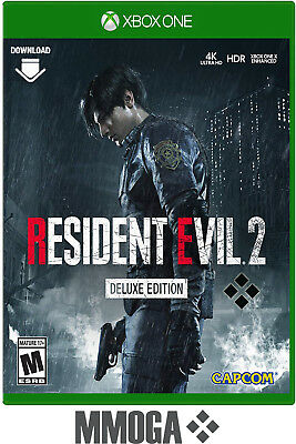 Xbox One - Resident Evil 2 Deluxe Edition Key - Microsoft Download Code - EU/DE