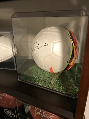 6a313d38c97 Cristiano Ronaldo Autographed Nike Soccer Ball PSA DNA Certfied w  Display  Case