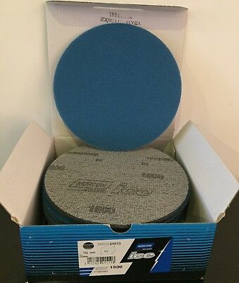 Self-Sharing Foam Discs For Finishing P1500 D150Mm / 15Pcs Norton