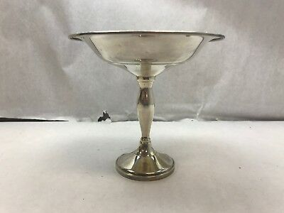 FISHER SILVERSMITHS Weighted STERLING SILVER Pedestal COMPOTE DISH Candy Bowl