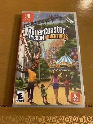 ROLLERCOASTER TYCOON ADVENTURES (Nintendo Switch) Roller Coaster - Brand New