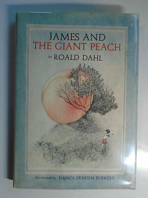 James and the Giant Peach, Roald Dahl, Nancy Burkert, DJ, 1st Edition 2nd State